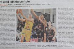 BCSP Rezé  - Ouest-France - 20190310