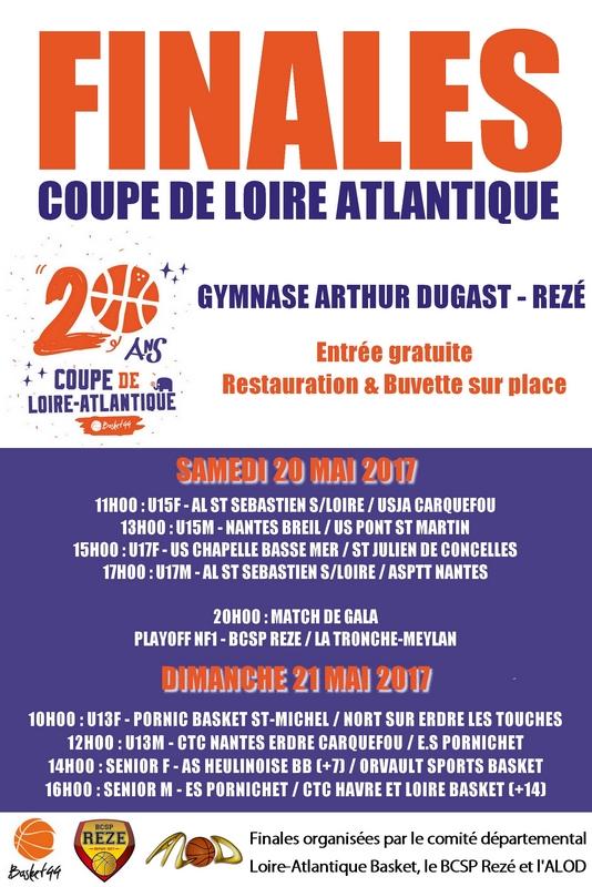 AFFICHE COUPE DE LA 20ans