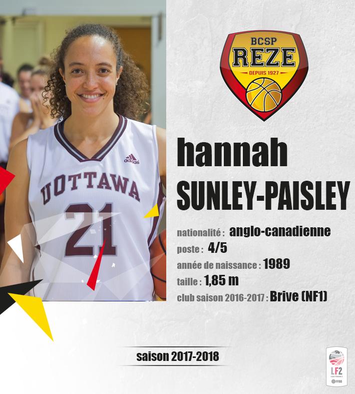 Hannah Sunley-Paisley