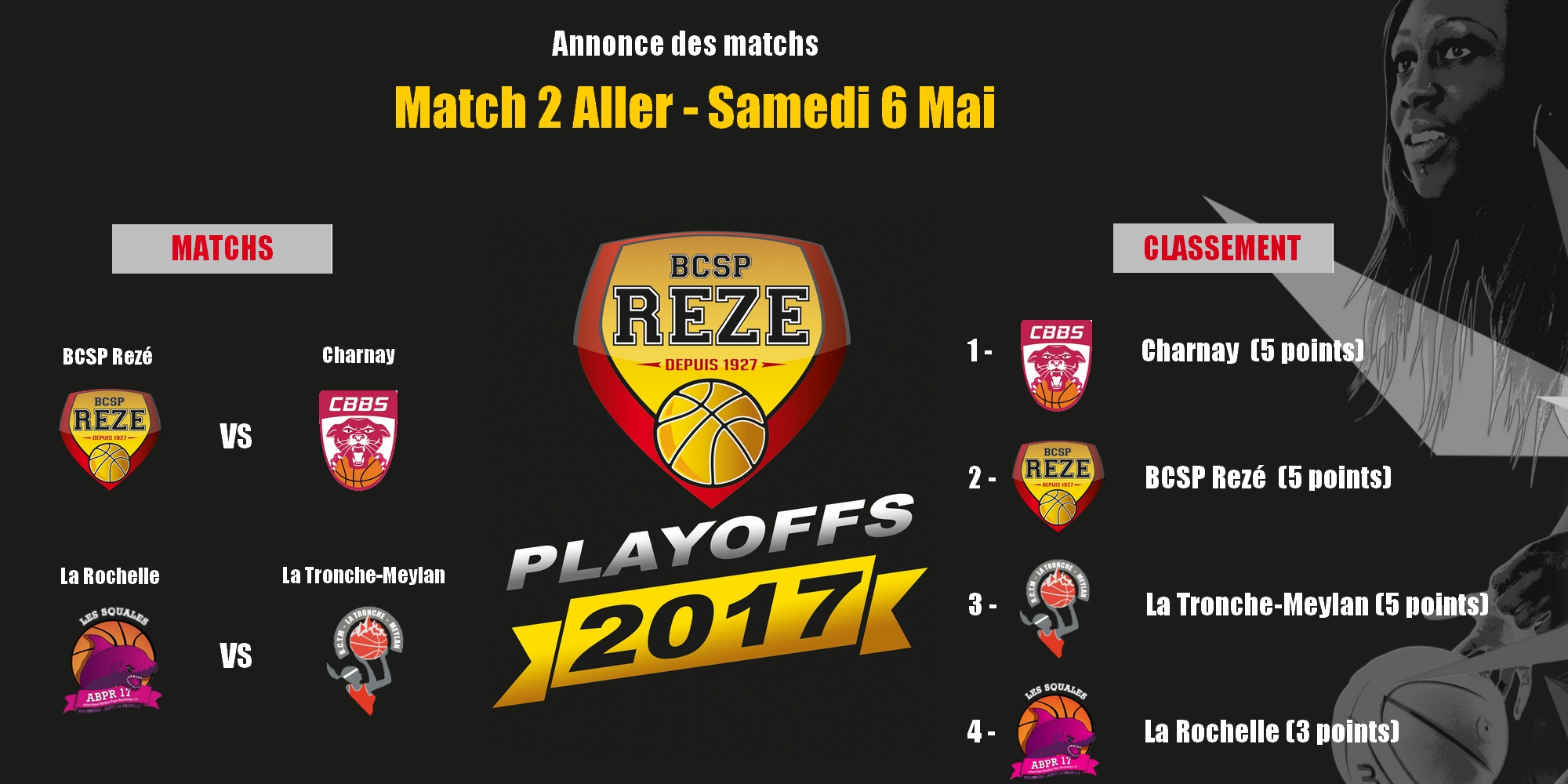 journee 1 playoffs - annonce matchs-petit