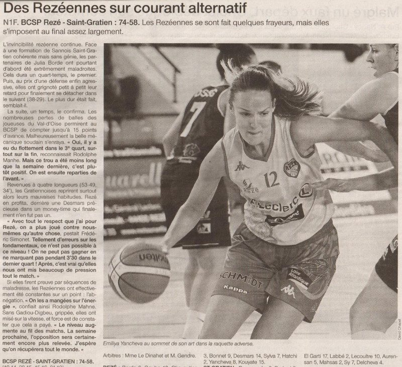 NF1 / Ouest-France / 09-10-2016