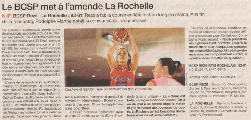NF1 / Ouest-France / 04-12-2016