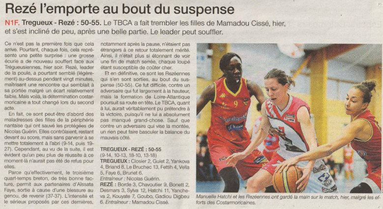 NF1 / Ouest-France / 29-01-2017