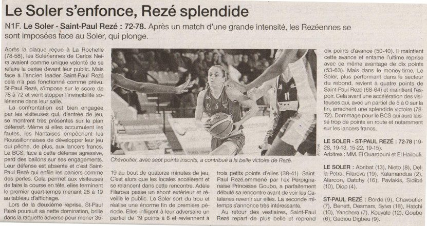NF1 / Ouest-France / 05-03-2017