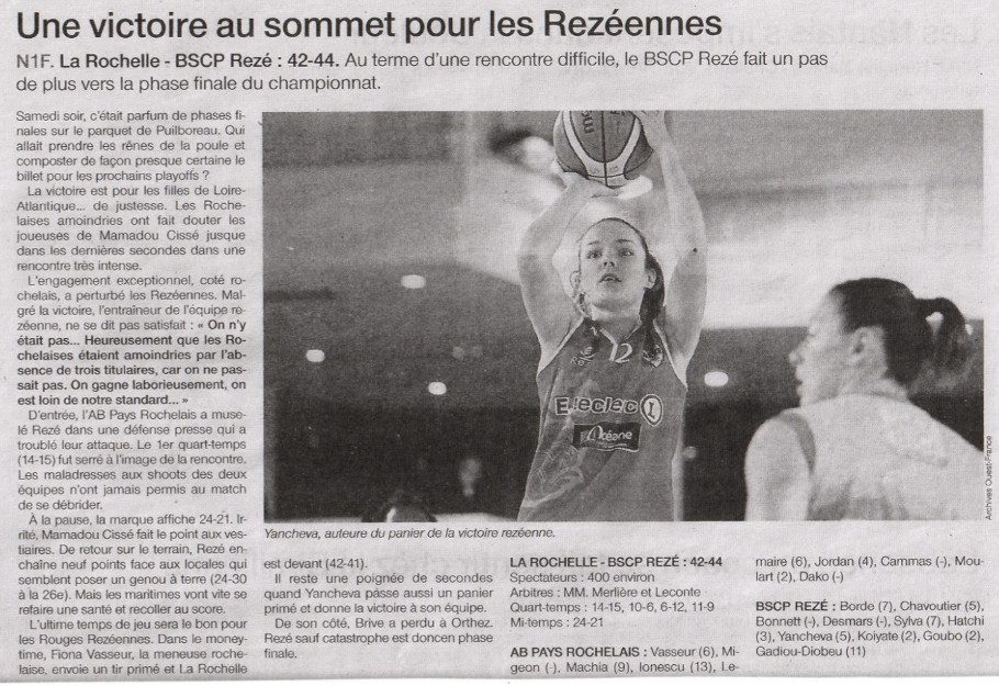 NF1 / Ouest-France / 02-04-2017