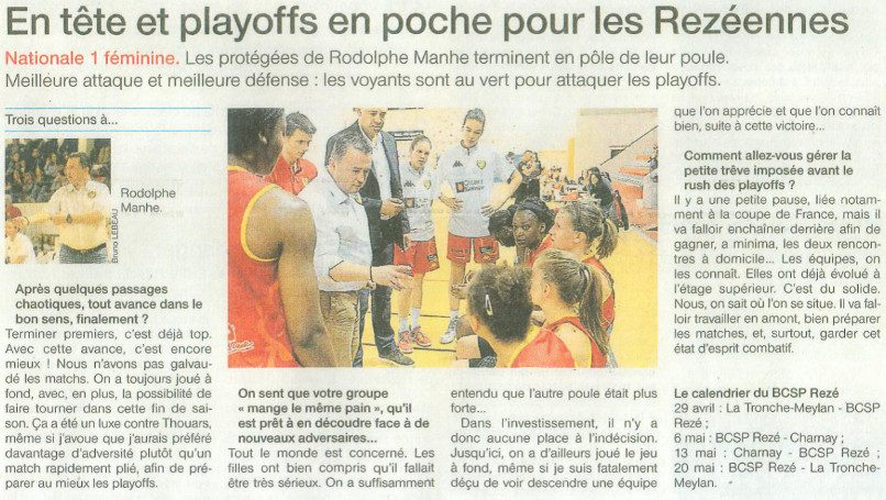 NF1 / Ouest-France / 16-04-2017