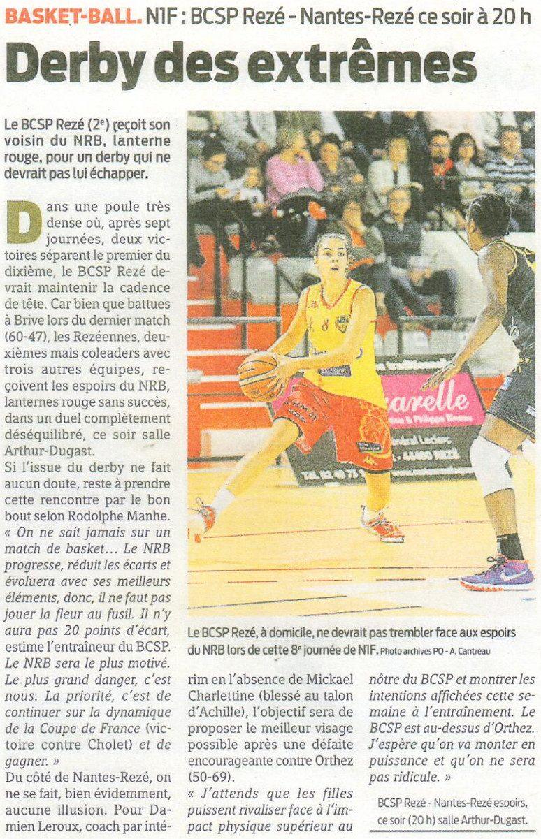 NF1 / Presse-Océan / 25-11-2016