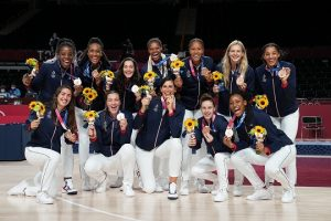 Médaille bronze basket féminin JO Tokyo 2020