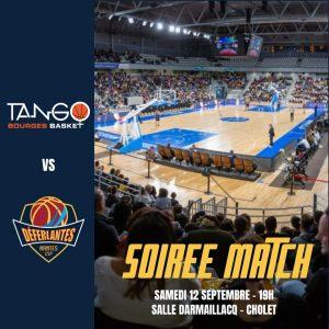 Match préparation saison 2021/2022 Les Déferlantes Tango Bourges