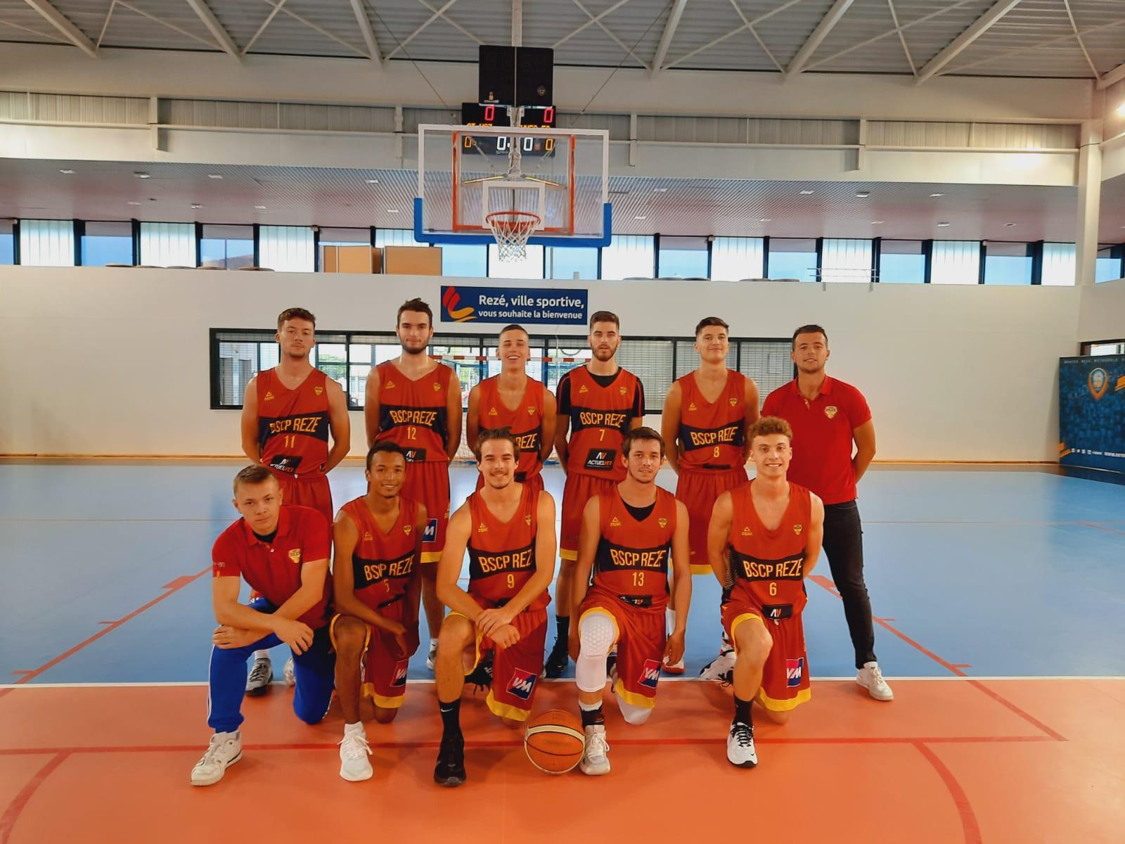 BCSP Rezé- équipe U20M Région