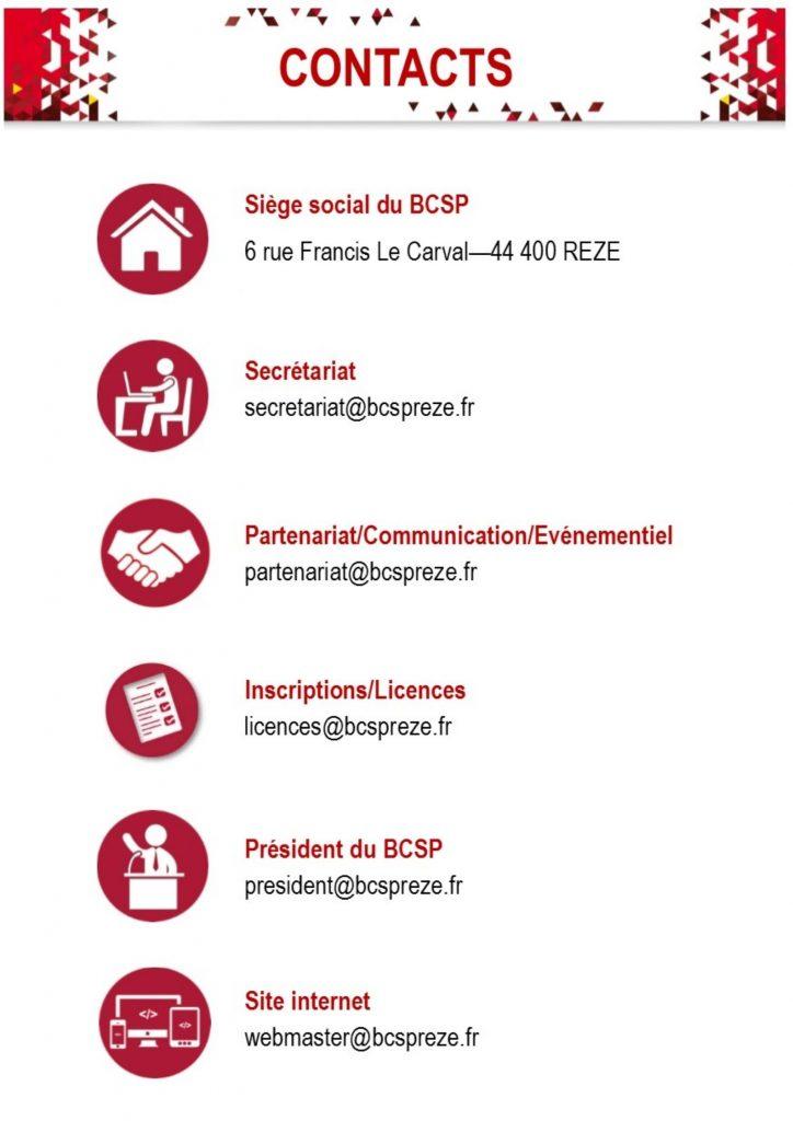 Fiche Contact BCSP Rezé
