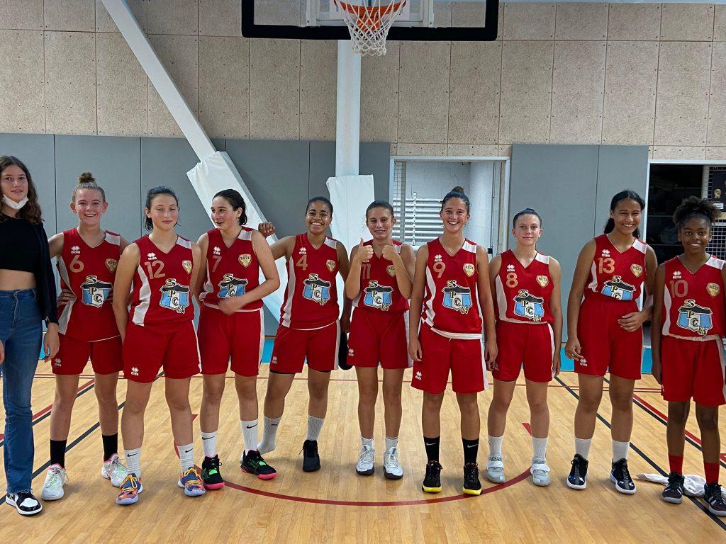 équipe BCSP Rezé U15 F Région