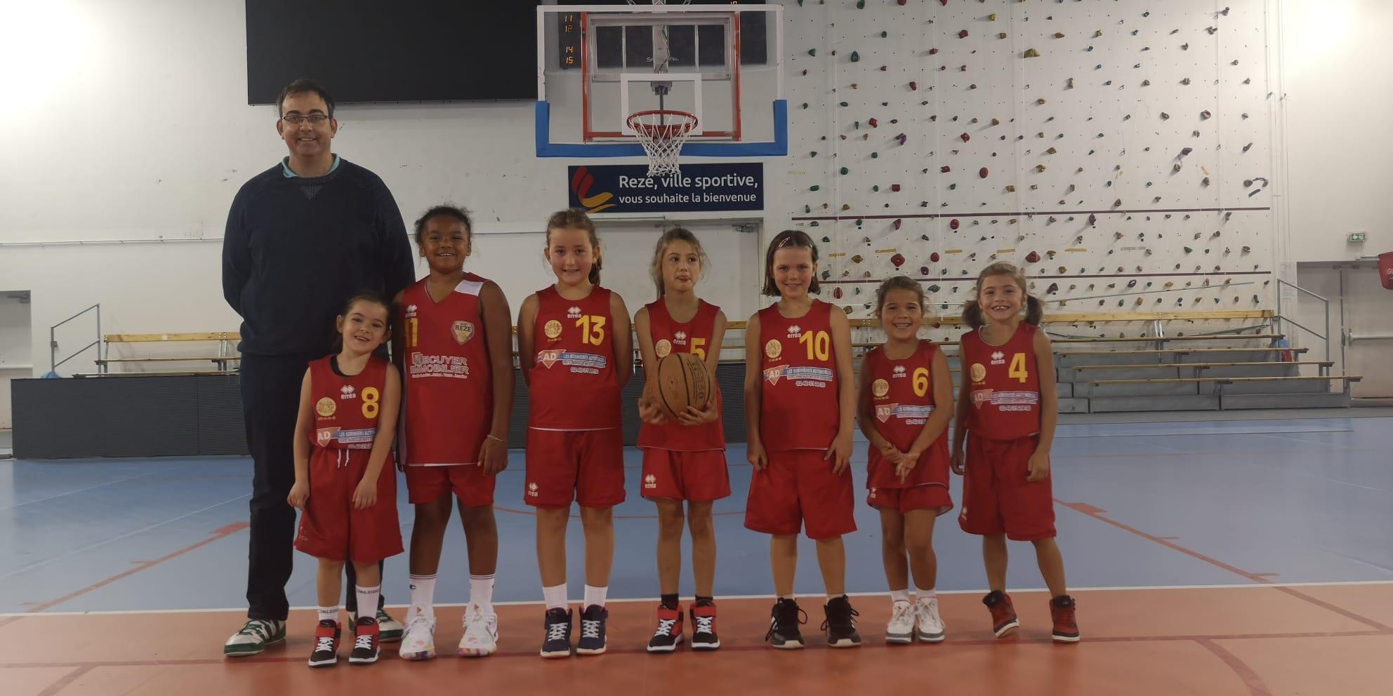 équipe féminine U9